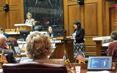 ISFA testifies in the House Committee on Public Health.